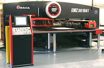 The latest CNC Punching Machine from Amada