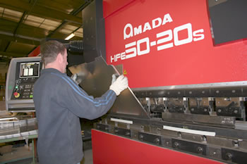 LPE add their 8th 7 Axis CNC Press Brake